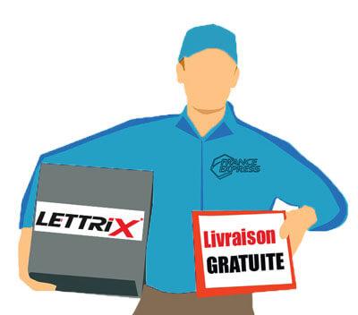 lettrix livraison gratuite de lettres découpées enseigne et décoration